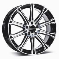 Borbet CW1 7x17 5x114.3 ET40 D72.5 Black polished