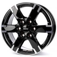 Alutec Titan 7x16 6x114.3 ET45 D66.1 Diamond Black Front Polished