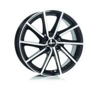 Alutec Singa 6x15 4x100 ET39 D56.6 Diamond Black Front Polished