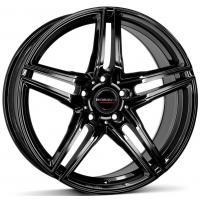 Borbet XR 7.5x16 5x112 ET45 D66.6 Black glossy