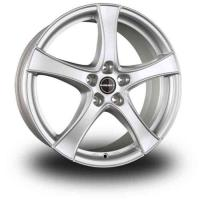 Borbet F2 6.5x17 5x112 ET45 D57.1 Brilliant silver