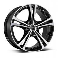 Borbet XL 7.5x17 5x112 ET35 D72.5 Black polished