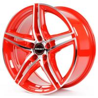 Borbet XRT 8x18 5x112 ET45 D72.5 Red Front Polished